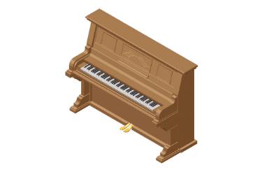アップライトピアノの買取相場を熟知