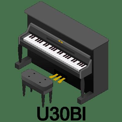ヤマハ U30Bl<
